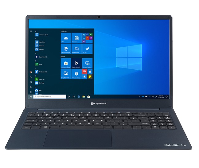"Dynabook Satellite Pro C50-H-11G DDR4-SDRAM Notebook 39,6 cm (15.6"") 1920 x 1080 Pixels Intel® 10de generatie Core™ i3 8 GB 256 GB SSD Wi-Fi 5 (802.11ac) Windows 10 Home Blauw"