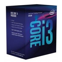 Intel Core ® ™ i3-8100 Processor (6M Cache, 3.60 GHz) 3.6GHz 6MB Smart Cache Box