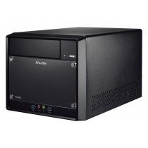 Shuttle SH110R4 Intel H110 Desktop Zwart PC/workstation barebone