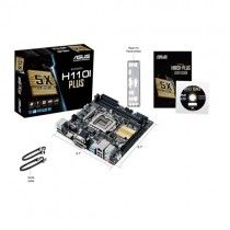 ASUS H110I-Plus Intel H110 LGA 1151 (Socket H4) Mini-ITX moederbord