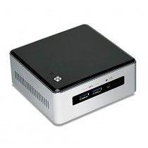 Intel NUC NUC5i5MYHE BGA 1168 2.3GHz i5-5300U UCFF Zwart, Zilver