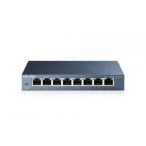 TP-Link  8Port 1Gb Metalen behuizing / Easy Smart