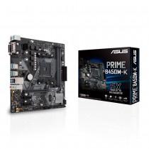 ASUS PRIME B450M-K moederbord Socket AM4 Micro ATX AMD B450