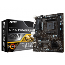 MSI AM4 A320M PRO-VH PLUS V/GBL/DDR4/USB3/µATX