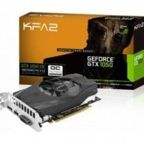 1050 KFA2 NVIDIA GTX1050 OC DP/HDMI/DVI/GDDR5/2GB