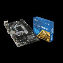 MSI 1151 H110M Pro-VH          V/GBL/DDR4/USB3.1/µATX