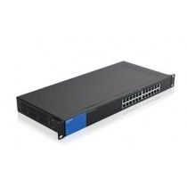 Linksys 24-poorts Gigabit PoE - desktopswitch (LGS124P)