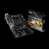 MSI AM4 A320M PRO-VD/S V/GBL/DDR4/USB3/µATX