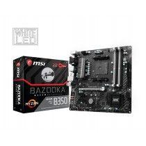 MSI B350M BAZOOKA AMD B350 Socket AM4 Micro ATX moederbord