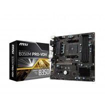 MSI AM4 B350M PRO-VDH V/GBL/DDR4/USB3/µATX