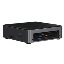 Intel NUC NUC7I3BNK BGA 1356 2.40GHz i3-7100U Zwart, Grijs