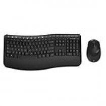 DT Microsoft Wireless Comfort Desktop 5050 Zwart
