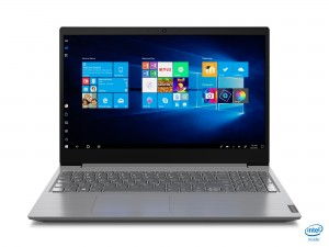 "Lenovo V V15 Notebook 39,6 cm (15.6"") 1920 x 1080 Pixels Intel® 10de generatie Core™ i3 8 GB DDR4-SDRAM 256 GB SSD Wi-Fi 5 (802.11ac) Windows 10 Home Grijs"
